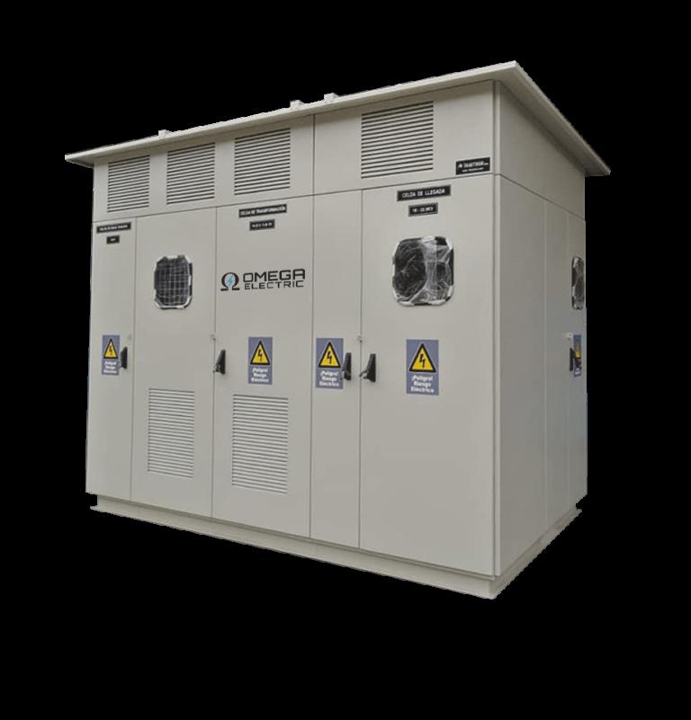 Fabricación de subestaciones Omega Electric